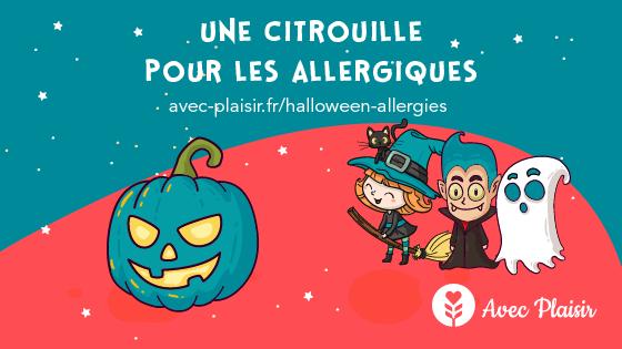 Une citrouille pour les allergiques Halloween pour tous