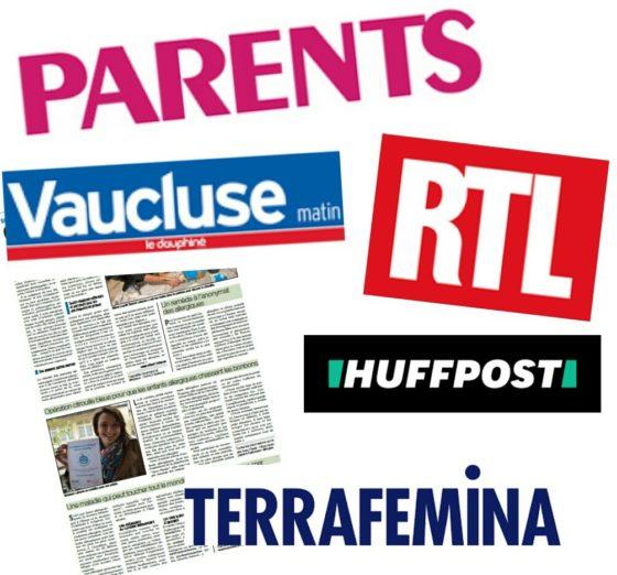 Revue de presse halloween logo parents vaucluse rtl