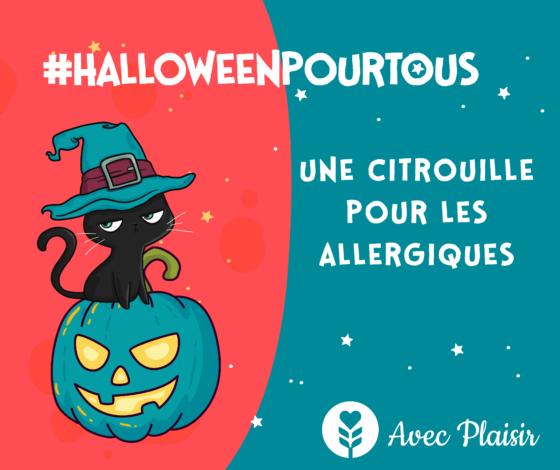 HalloweenPourTous : Une citrouille pour les allergiques