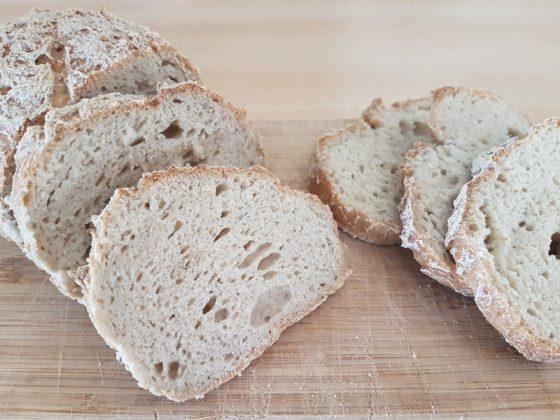 Pain sans gluten la recette facile du pain magique - Avec Plaisir sans allergenes coupe
