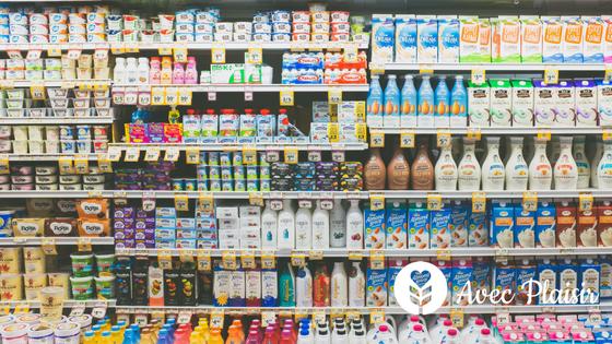 Régime sans protéines de lait de vache comment remplacer le lait supermarché Avec Plaisir le média gourmand sans allergènes