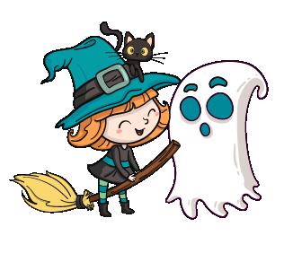 Coloriages sur le thème d'Halloween