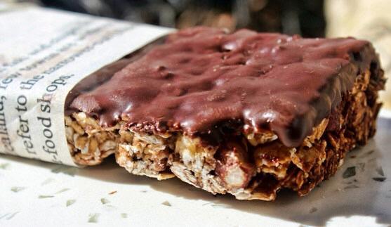 Barres de céréales maison sans allergène(s) au chocolat