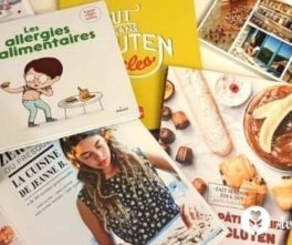 Sans gluten, sans lactose, sans allergènes.. quels livres avoir dans sa bibliothèque ?