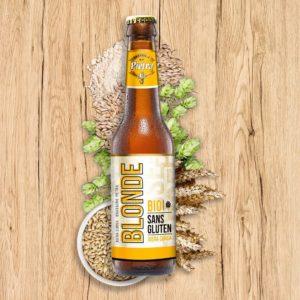 Sélection de Bière sans gluten - blonde pietra