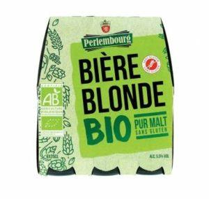 Sélection de Bière sans gluten - Perlembourg Lidl blonde bio