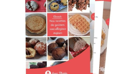 10 recettes sans allergènes dans un ebook gratuit - couverture