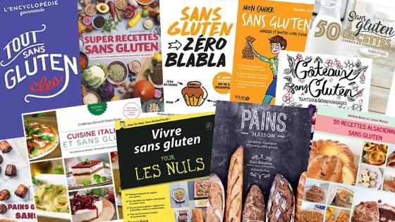 Livres de recettes sans gluten