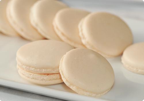Macarons au chocolat noir sans allergène(s) et vegan (sans oeuf) - coque