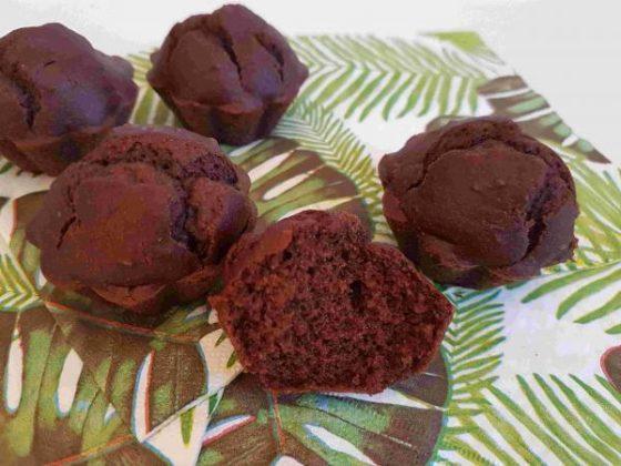 Muffin au chocolat sans gluten sans oeuf sans lait sans allergènes - 2