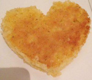 Recette spéciale saint valentin tiramisu sans allergènes coeur - étape 2