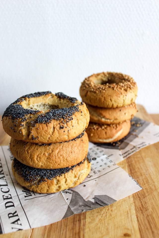 Recette pour 6 bagels sans gluten