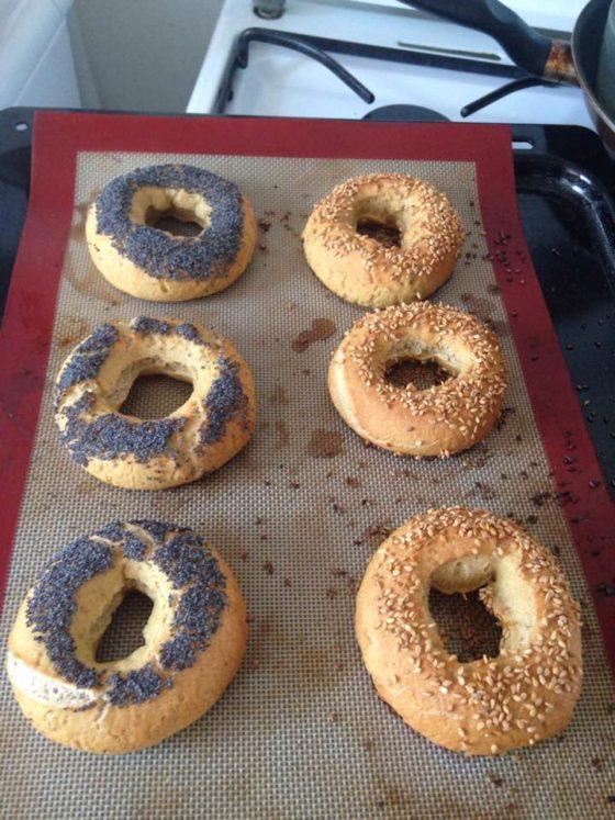 Ma fournée de bagels sans gluten