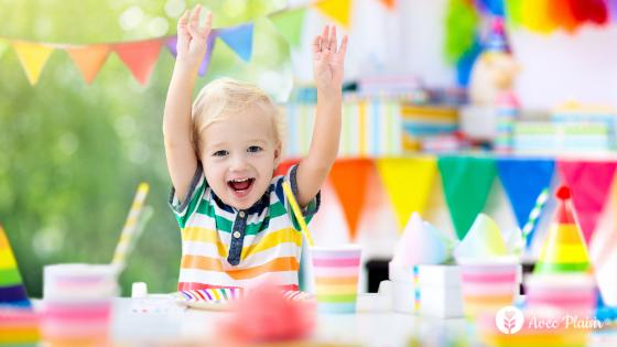 Comment organiser un goûter d'anniversaire avec un enfant poly allergique ?