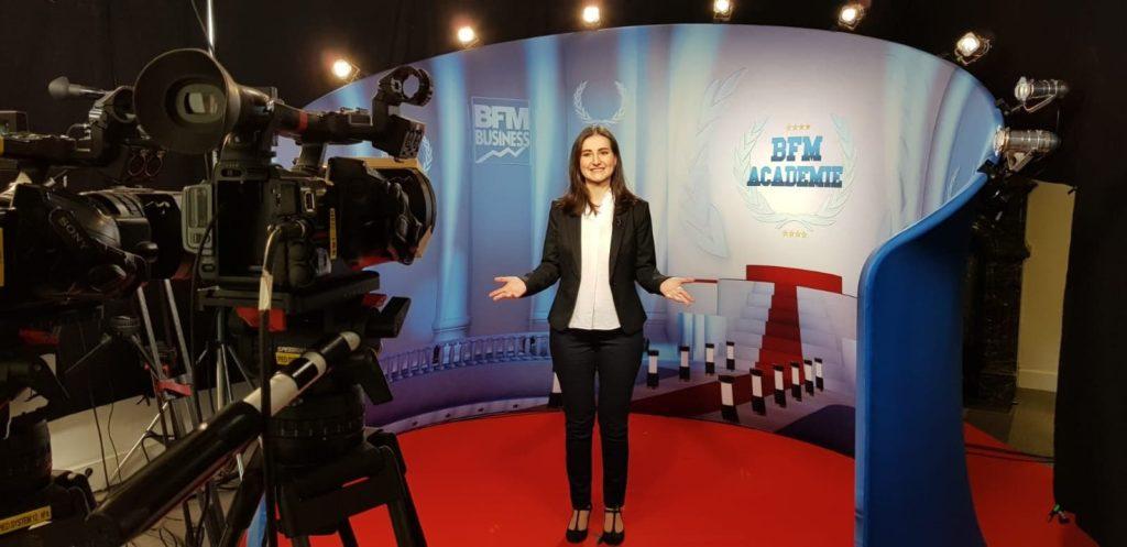 Revue de presse - BFM Académie - Julie pitche