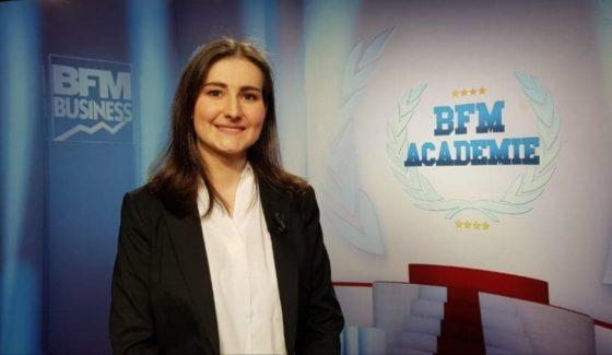 Revue de presse - BFM Académie - Julie Maillard
