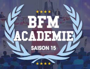 Revue de presse - BFM Académie - logo saison 15