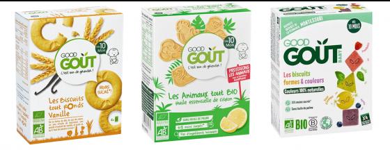 Biscuit sans lait pour le goûter de bébé APLV : Good Goût