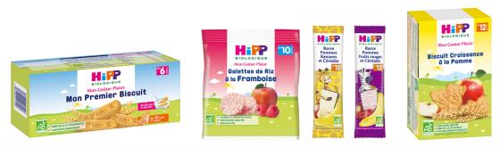Biscuit sans lait pour le goûter de bébé APLV : Hipp