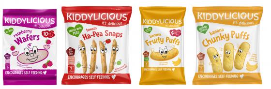 Biscuit sans lait pour le goûter de bébé APLV : Kiddylicious - 6-7 mois