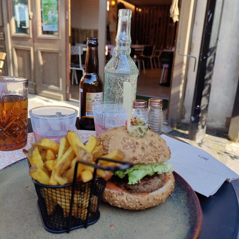 Où manger un burger sans gluten ? L'atelier gourmand à Auvers