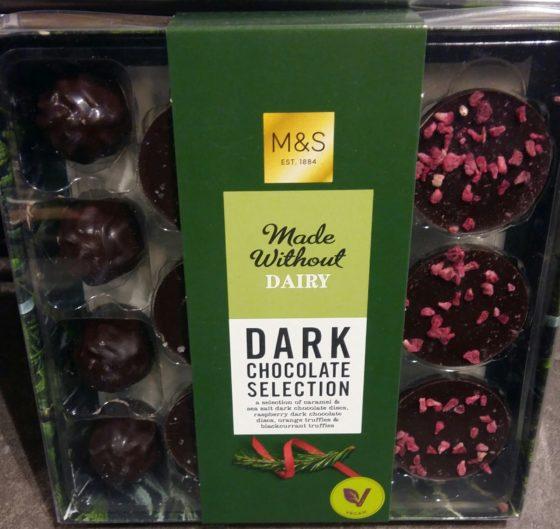 Chocolat de Noël sans allergènes : Marks & Spencer