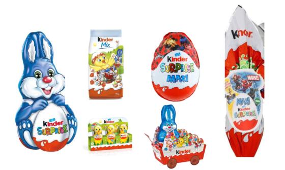 Chocolats de Pâques sans allergènes - notre sélection 2021 - Oeufs Kinder