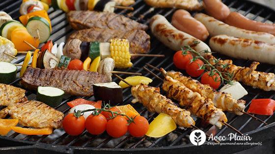 Nos conseils pour organiser un barbecue sans allergènes
