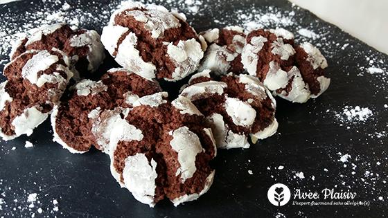 Crinkles ou cookies de Noël sans allergènes : sans gluten, lait, oeuf...