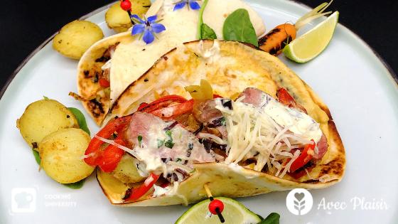 Opération cooking university spéciale barbecue - tacos de cannette au barbecue sans gluten