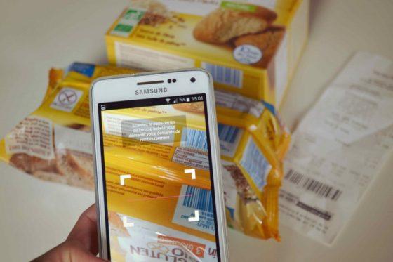 Nos courses sans gluten en promo, grâce à Shopmium : l'application