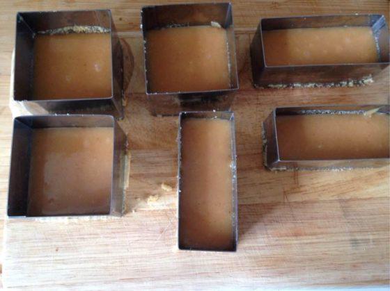 Délices au caramel sans gluten - étape 2 caramel
