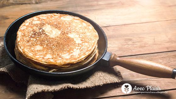 Fêtez la Chandeleur sans gluten, sans lait, sans oeuf grâce à nos recettes sans allergènes