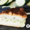 Recette salée du gâteau magique aux courgettes sans gluten et sans lactose