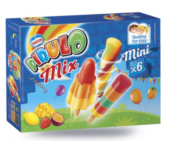 Glace sans allergènes - Pirulo Mix