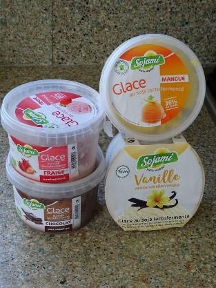 Glaces sans allergènes - Sojami sans gluten vegan