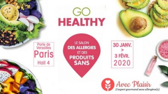Avec Plaisir partenaire du salon Go Healthy Paris 2020