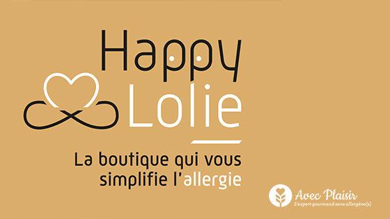 Happy Lolie l'eshop et boutique en ligne qui simplifie la vie des parents d'enfants allergiques