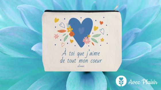 Idées cadeaux pour la fête des mères - Trousse allergie personnalisée