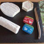 Lactolérance plateau de fromages et produits