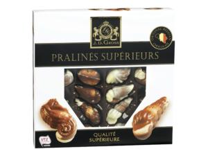 Chocolats sans allergènes (sans gluten, sans lait, sans soja et cie) : notre sélection - 2019 Lidl Pralinés fruits de mer SG