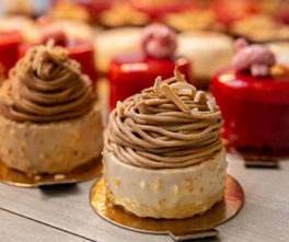 Liber Art, une pâtisserie sans gluten et un restaurant japonais : pâtisseries sans gluten