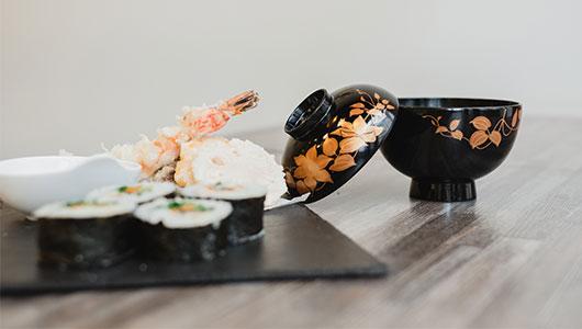 Liber Art, une pâtisserie sans gluten et un restaurant japonais : sushi