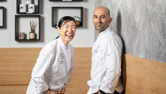 Liber Art, une pâtisserie sans gluten et un restaurant japonais : Yukiko & Franck