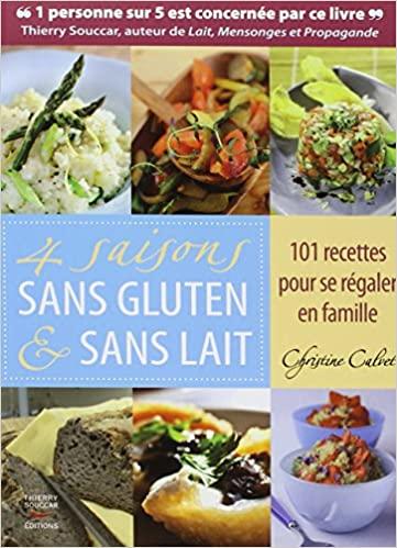Livre - 4 saisons sans gluten et sans lait