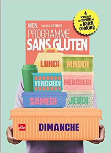 Livre - Mon programme sans gluten
