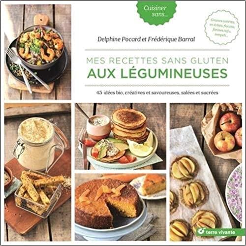Livre - Nos recettes sans gluten aux légumineuses