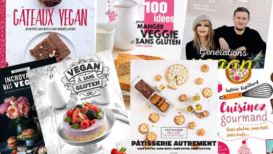 Livre de recettes sans GLO : sans gluten lait oeuf (vegan)