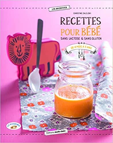 Livre - Recettes pour bébé sans gluten