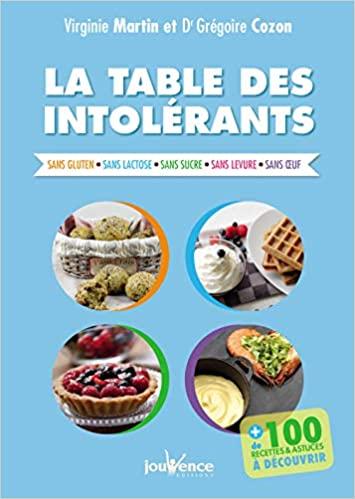 Livre - La Table des Intolérants - Virginie Martin / Dr Cozon